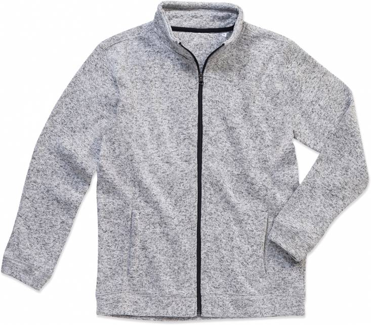 Herren Strickfleece Jacke Active Knit Fleece Jacket Stedman