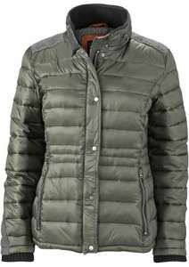 Damen Winterjacke JN 1099 James & Nicholson green