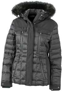 Damen Wintersport Jacke JN 1101 James & Nicholson black