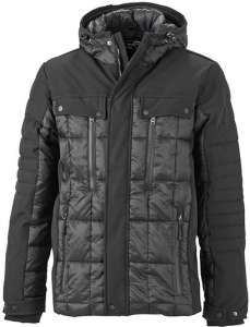 Herren Wintersport Jacke JN 1102 James & Nicholson black