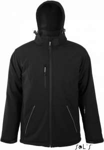 Winter Softshell Jacke Rock Men SOL'S black