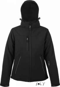 Damen Winter Softshell Jacke Rock Women SOL'S black