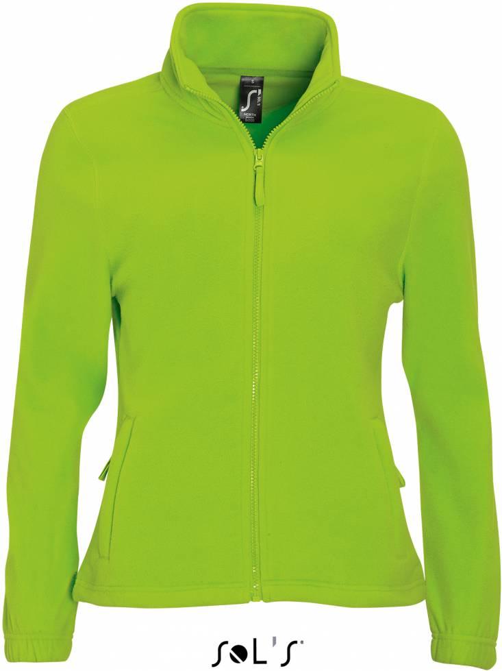 Farbe:Lime SOL/´S Fleecejacket North Gr/ö/ße:L