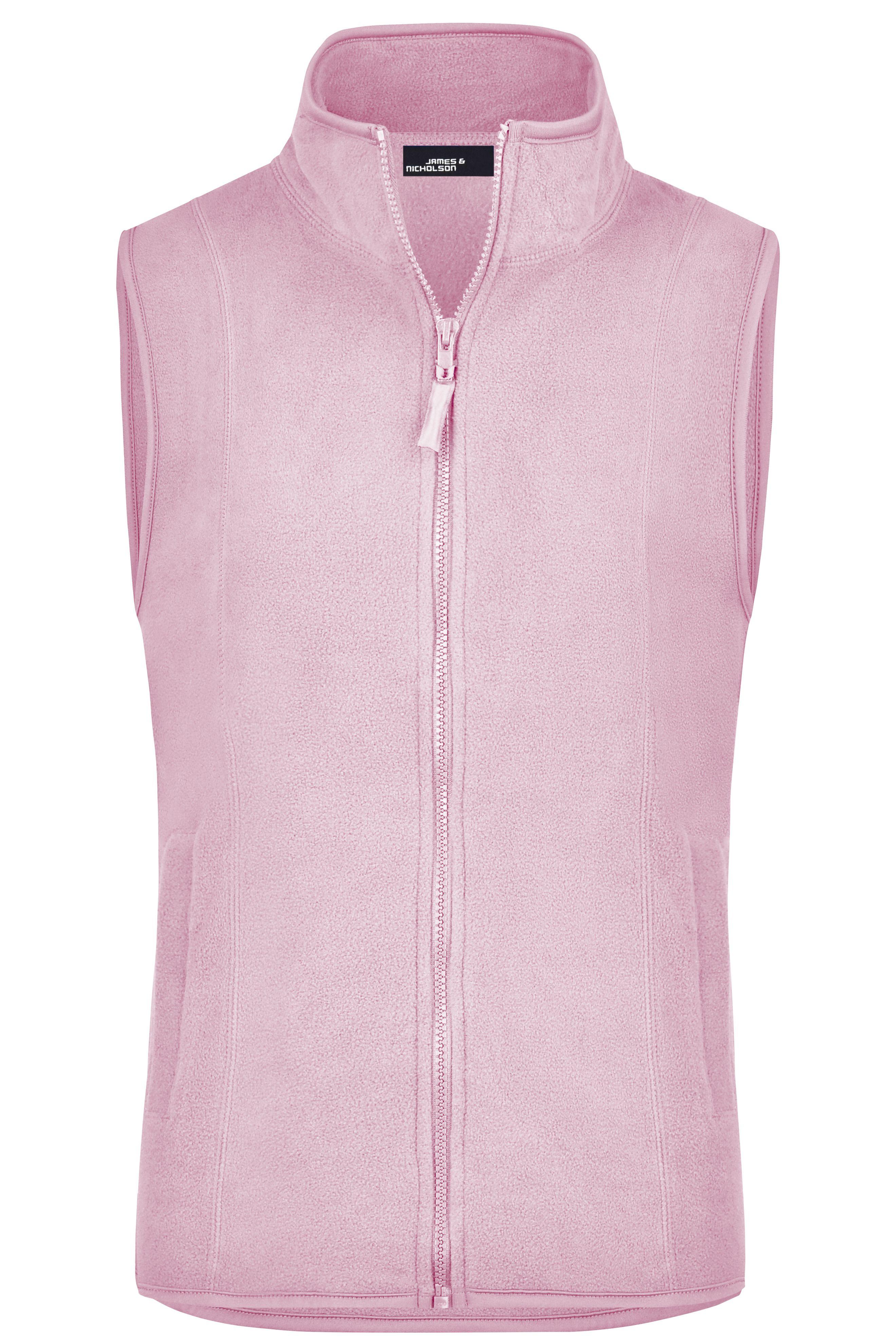 James /& Nicholson Girly Microfleece Weste Vest Fleece JN048 Damen Weste