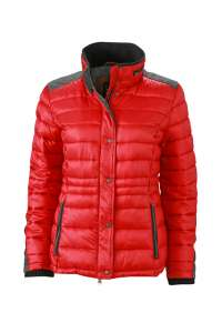 Ladies' Winter Jacket carmine red melange