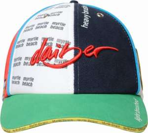 6-Panel Selling Cap MB 6210 Myrtle Beach red