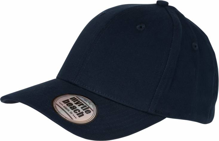Myrtle Beach 6 Panel Turbo Piping Cap Basecap Baseball Kappe M/ütze